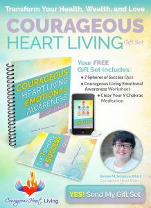 Courageous Heart Living Gift Set Free Optin