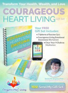 Courageous Heart Living Gift Set Free Optin
